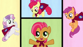 Babs Seed as the newest addition to the CMC S3E4