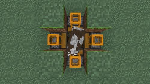how to make cow spawner grinder