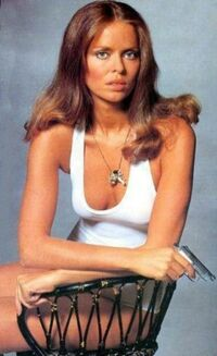 Barbara bach publicity shoot