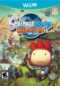 Scribblenauts Unlimited (Wii U) (NA)