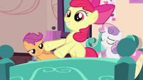 Apple Bloom guest of honor S3E4