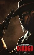 Jamie foxx django unchained character poster