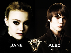 Jane and Alec Volturi