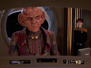 Quark, Enterprise-D viewscreen