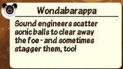 Wondabarappadescription