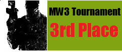 MW3 tournament winner 3rd