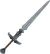 Steel 2h sword detail
