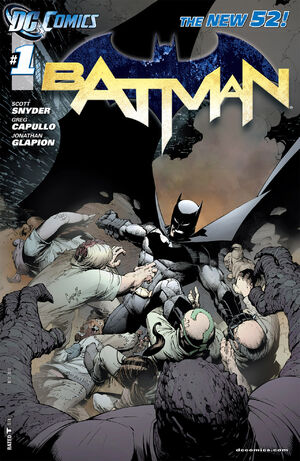Cover for Batman #1