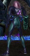 Samus gravity fusion suit rear view prime dolphin hd