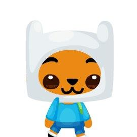 FINN THE HUMAN (Pet Society)