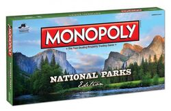 Monopoly National Parks Edition box