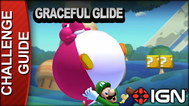 New Super Mario Bros. U Challenge Walkthrough - Graceful Glide