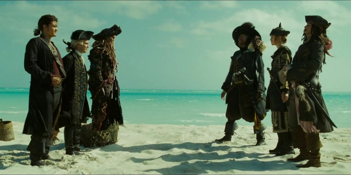 Image result for pirates of the caribbean scenes