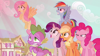 Rarity &amp; Rainbow Dash not good S3E5