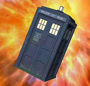 Tardis in Flight