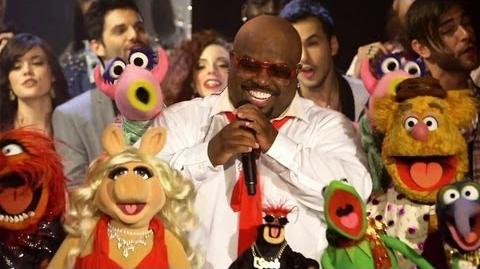 "CeeLo Green feat. The Muppets - ""All I Need Is Love"" Live"
