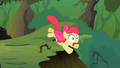 Apple Bloom about to fall down the cliff S2E06.png