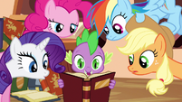 Rarity &amp; Rainbow Dash listening S3E5