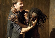 Michonne vs Philip