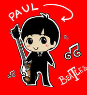 Chibi Beatle Paul by nat leblanc