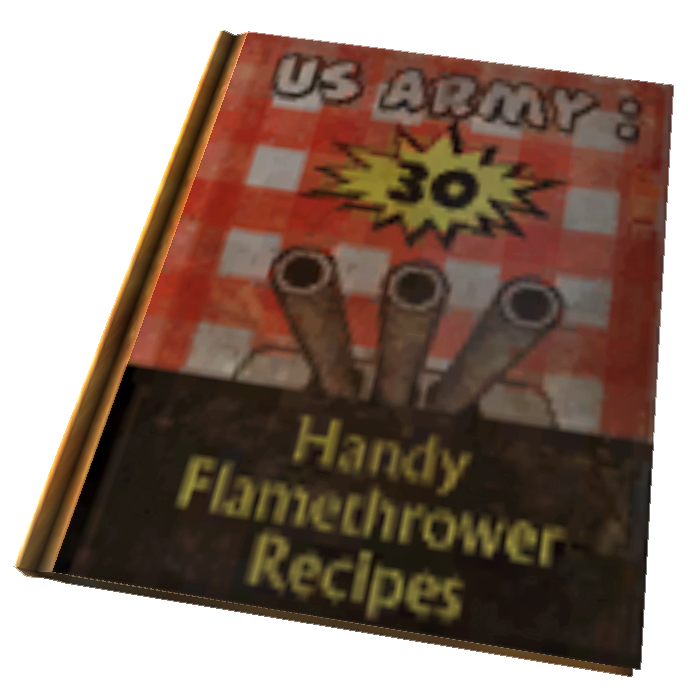 US Army 30 Handy Flamethrower Recipes