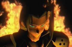 Sephiroth flammes