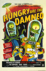 Hungry are the damned poster