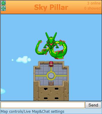 Sky Pillar Pokeomega Wiki