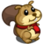 Fat Scarf Squirrel-icon