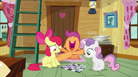 Scootaloo 'Then, all of a sudden' S3E06