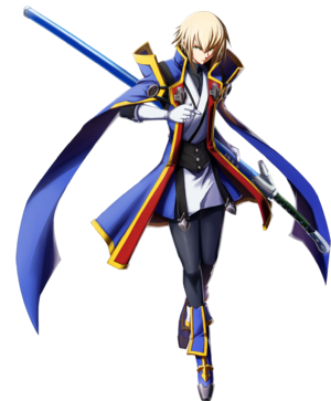 Jin Kisaragi (Chronophantasma, Character Select Artwork)