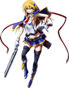Noel Vermillion (Chronophantasma, Character Select Artwork)