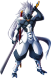Hakumen (Chronophantasma, Character Select Artwork)