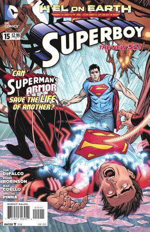Cover for Superboy #15