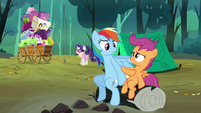 Scootaloo 'Never snored' S3E6