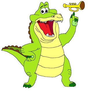 The Trumpet Playing Gator, Louis