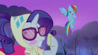 Rarity blushing S3E6