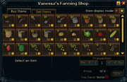 Vanessa's Farming Shop stock
