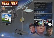 Dream Cheeky USS Enterprise USB Webcam ad