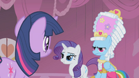 Rarity is grateful for Twilight's appreciation S1E10