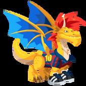 Dragón Futbolista Fase 3