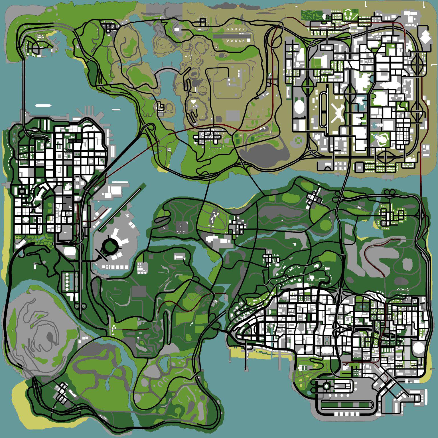 San Andreas GTA San Andreas (carte).jpg