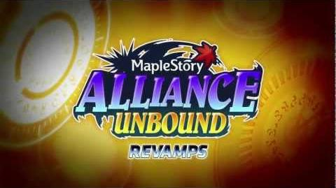 MapleStory - Alliance Unbound Revamps
