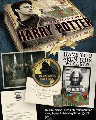 Harry Potter's possessions