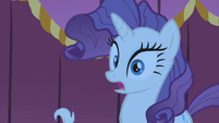 Rarity surprised by whatHoity Toity says S1E14
