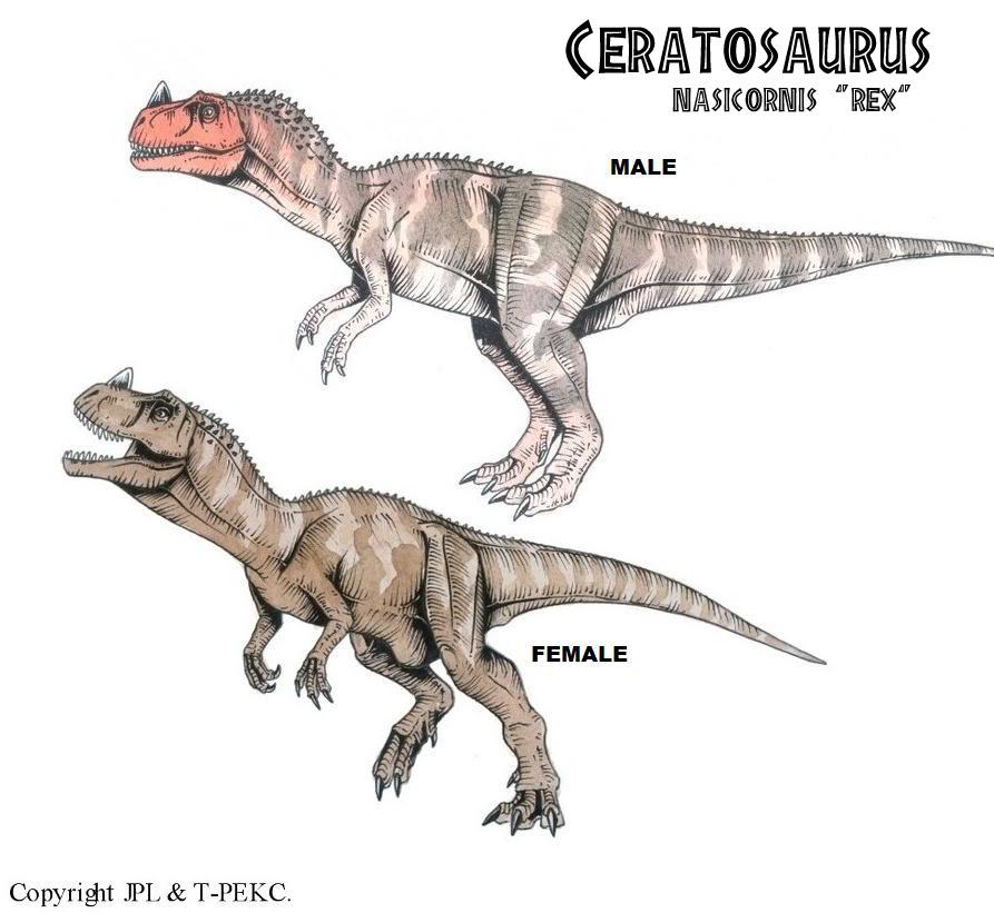 Ceratosaurus Nasicornis Quot Rex Quot Jpl Live The Legend Wiki