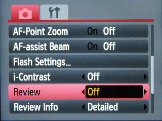 Canon-review-mode-off