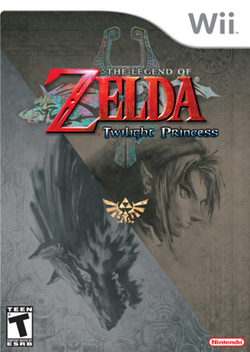 The Legend of Zelda Twilight Princess Portada (Wii)