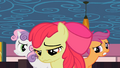 Cutie Mark Crusaders sad about not getting their cutie marks S2E6.png