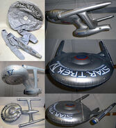 Star Trek Inflatable USS Enterprise promos